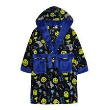 d1412c7e81865 Enfants Jeu Vidéo / Ordinateur Imprimé Doux Peignoir Robe de Chambre Polaire