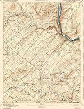 Topographical Map - Doylestown Pennsylvania, New Jersey Sheet 1891 - 17 x 21.94