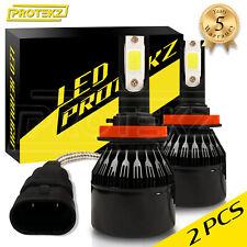 LED Light Bulb Conversion Kit Protekz 9006 H7 H11 9005 for 2004-2016 Mazda 3
