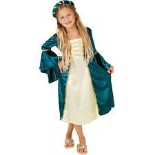 4b2853fc2215 Costume da Bambina Principessa del Castello Medioevo Ragazza Carnevale  Halloween