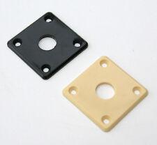 Universal Plástico Guitarra Eléctrica de inserción Jack placa M21