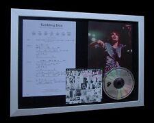 ROLLING STONES Tumbling Dice LTD Nod CD MUSIC FRAMED DISPLAY+EXPRESS GLOBAL SHIP