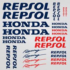 Honda Repsol adesivi kit sticker 26x set decal casco carro armato moto pagatina