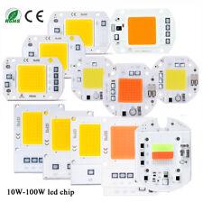 LED Floodlight COB Chip 20W 50W 70W 100W Light I Full spectrum Smart IC Driver