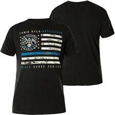 AFFLICTION T-Shirt CK Honor Prote Schwarz T-Shirts