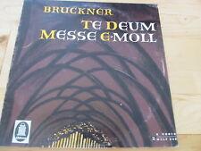 ODEON LP BRUCKNER TE DEUM MESSE E-MOLL E 80010 LP GATEFOLD FORSTER