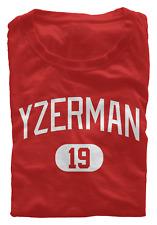 Steve Yzerman T-Shirt Detroit Red Wings NHL HOF Regular/Soft Jersey #19 (S-3XL)