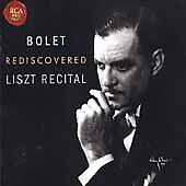 NEW - Jorge Bolet Rediscovered Liszt Recital by Jorge Bolet