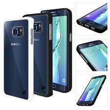 For Samsung Galaxy S6 Edge Plus Crystal Clear Back shockproof Bumper Hard C