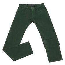 5378U jeans uomo DOLCE & GABBANA STRETCH verde green trouser men