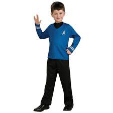 Mr Spock Costume Kids Star Trek Halloween Fancy Dress