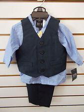 $49.50 4pc Vest Suits Size 12 Months 24 Months Infant Boys Nautica $48