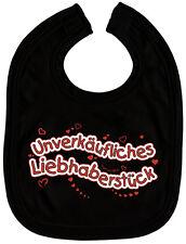 (07074) Lätzchen Bike unverkäufliches Liebhaberstück Schlabberlätzchen Black