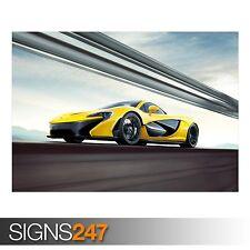 McLaren P1 (AB447) cartel de auto-foto imagen arte cartel impresión A0 A1 A2 A3 A4