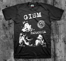 GISM 'Paranoia' T shirt (Gauze Confuse Deasthside Disclose G.I.S.M.)