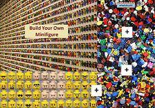 LEGO - BUILD YOUR OWN Minifigure - Hands Torso Legs Hair People Lot Party Favor
