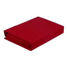Paris Romance RED 225TC Thread Count Cotton Polyester Sheet Set 5 Sizes