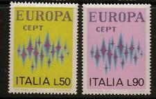 ITALY SG1314/5 1972  EUROPA  MNH