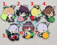 Japan Anime DIABOLIK LOVERS Fruit Ver. Keychain Rubber Strap Phone Bag Charm ZO