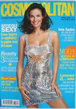Cosmopolitan-'07-INES SASTRE,Franco Battiato,Massimiliano Varrese - April - n.4