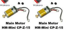 USED MINT 2 x Quantity of Walkera Mini CP  CP-Z-15 Main Motor Heli U12D