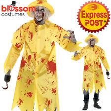 CA434 Mens Zombie Fisherman Halloween Sailor Sou' wester Undead Costume
