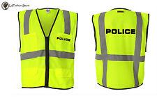 Police Law Enforcements Security watch Vests S-5XL