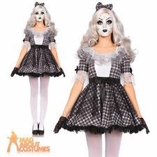 Dead Doll Costume Adult Evil Dolly Fancy Dress Ladies Horro Outfit Leg Avenue