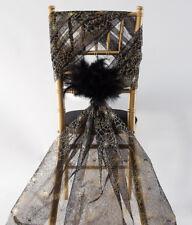 Rollos De Tela Organza Halloween 70 cm X 10 M drapeado boda fiesta decoración silla arco