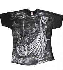 Gothic Walhalla Valhalla Wikinger Viking T-Shirt Drachenboot Odin M L XL XXL