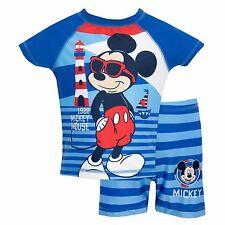 Mickey Mouse Swim Set | Boys Disney Mickey Mouse Two Piece Swim Suit | NEW