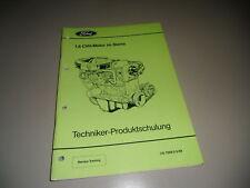 Technische Information Ford Sierra 1,8 CVH Motor 1989