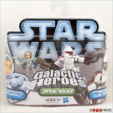 Star Wars Galactic Heroes Snow Bunny Padme Amidala Senate Security Clone Trooper