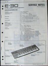 Roland Service Manual Original Book Pick 1: E-30 E-35 E-38 E-68 E-70 Synthesizer