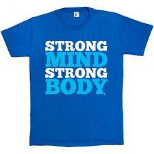 Mente fuerte cuerpo fuerte Boot Camp Gimnasio Para Hombre Camiseta