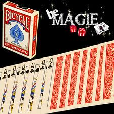 Jeu à FORCER Bicycle - Magie - Poker