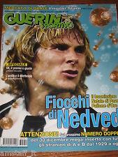 GUERIN SPORTIVO 2003/51=PAVEL NEDVED PALLONE D'ORO JUVENTUS=FILM CAMPIONATO=