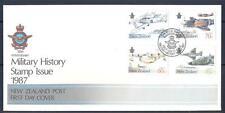 NEW ZEALAND 1987 Military History FDC