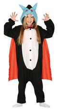 Kids Vampire Costume Girls Boys Pyjamas Jumpsuit Halloween Fancy Dress 4-6 NEW