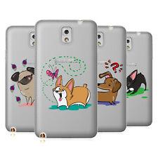 Grace UFFICIALE ILLUSTRAZIONE Cani Soft Gel Custodia per Telefoni Samsung 2