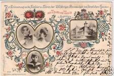 Privada-ga lluvia castillo 150 años Thurn & taxis 1898