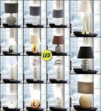 Design Led Table Lumières Chambre à Coucher Beistell Spot Textile Abat-Jour
