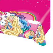 Barbie dreamtopia Mantel Plástico Fiesta Mantel Cumpleaños unicornio