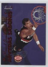 1999 Fleer Tradition #118 Arvydas Sabonis Portland Trail Blazers Basketball Card