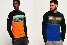 Superdry Triple Drop Pop Panel Sweatshirt