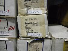 "Powers 3/8x7"" Carbon Steel Wedge Anchor 50pc/box (BB331-1)"