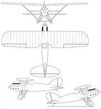 Nieuport-Delage NiD 62 - Blueprint Poster