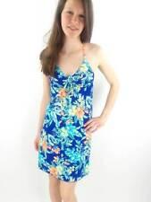 O'Neill Robe de bain Robe à bretelles Tropical Support blau Dos-nu