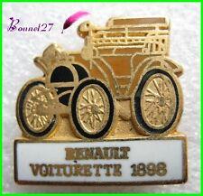 Pin's Voiture de Collection RENAULT La VOITURETTE 1898 #1292