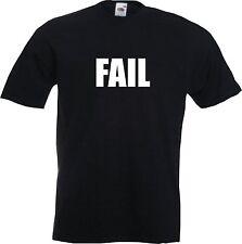 FAIL - MENS FUNNY T-SHIRT TUMBLR YOU TUBE SNAP CHAT - STAG NIGHT
